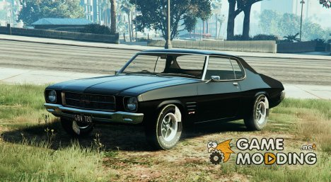 Holden HQ GTS Monaro (RHD) for GTA 5