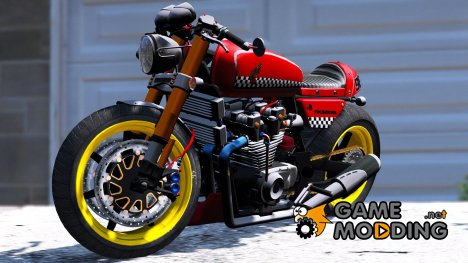 Honda CB750 Cafe Racer 2.0 for GTA 5