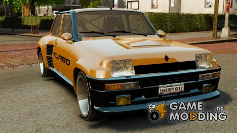 Renault 5 Turbo для GTA 4