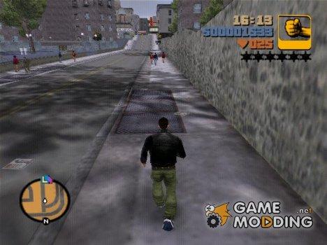 Регенерация жизни как в GTA 5 для GTA 3