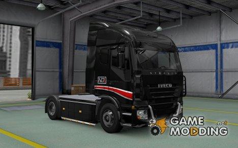 Скин N7 для Iveco Stralis for Euro Truck Simulator 2