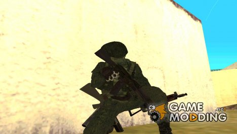 Пак оружия солдата IPG для GTA San Andreas