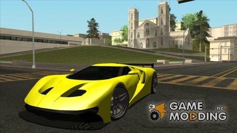 GTA V Vapid FMJ для GTA San Andreas