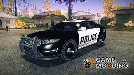 GTA V Vapid Police Interceptor для GTA San Andreas