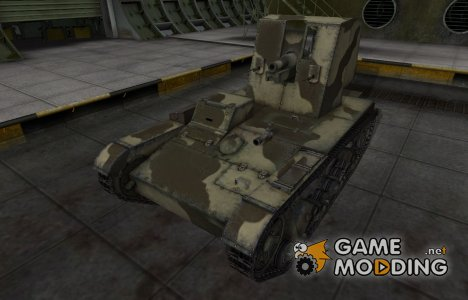Пустынный скин для СУ-26 for World of Tanks