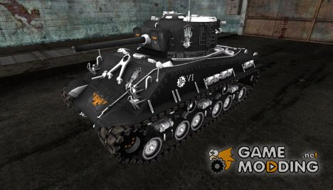 Шкурка для M4A3E8 Sherman (Вархаммер) for World of Tanks