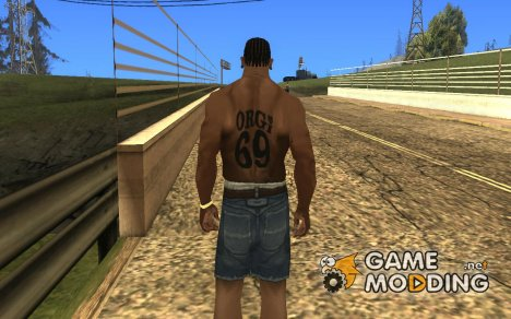 Orgi 69 Tattoo for GTA San Andreas