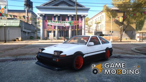 Toyota AE86 for GTA 4