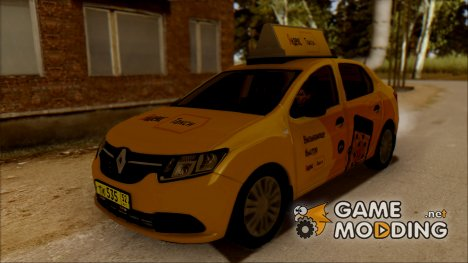 "Renault Logan 2017 ""Яндекс Такси"" для GTA San Andreas"