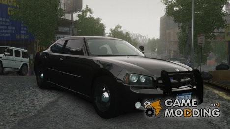 Dodge Charger R/T Hemi FBI 2007 для GTA 4