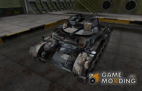 Камуфлированный скин для PzKpfw II для World of Tanks