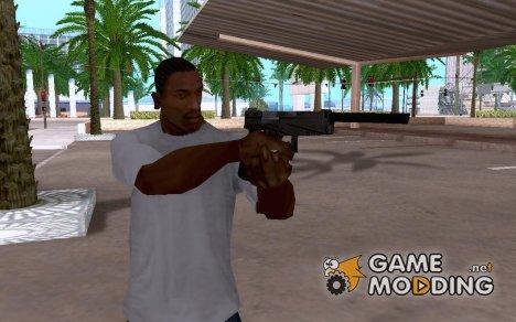 Glock 17 mit Schalldämpfer for GTA San Andreas