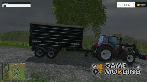 Brantner TA 14045 для Farming Simulator 2015