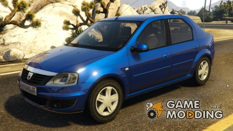 2008 Dacia Logan v2.0 FINAL for GTA 5