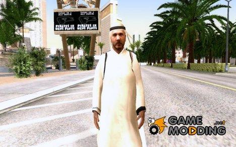 Арабский шейх for GTA San Andreas