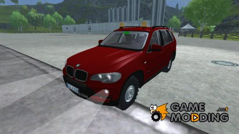 BMW X5 agricultural for Farming Simulator 2013