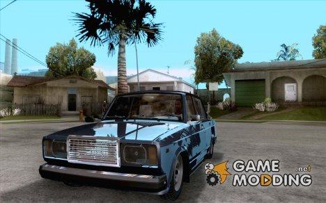 ВАЗ 2107 Аквариум for GTA San Andreas