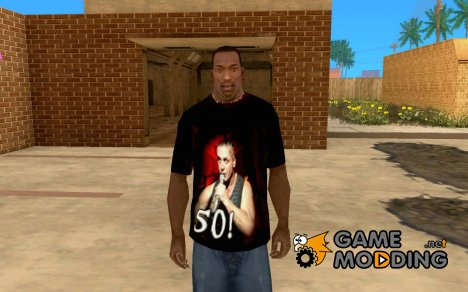 Футболка Till Lindemann 50! для GTA San Andreas