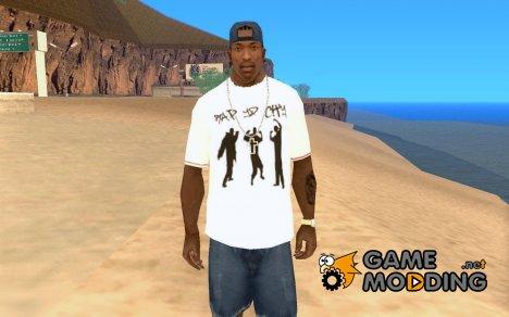 Рэперская футболка for GTA San Andreas