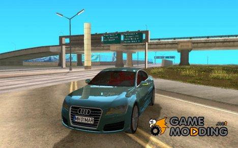 Audi A7 Sportback 2010 for GTA San Andreas