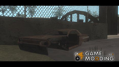 GTA IV Wrecked Cars (with Normal Map) for GTA San Andreas