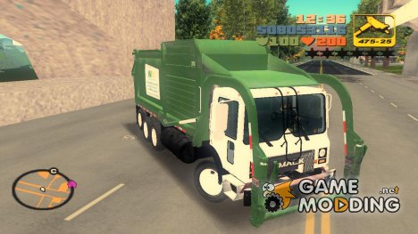 Mack MR 688S for GTA 3