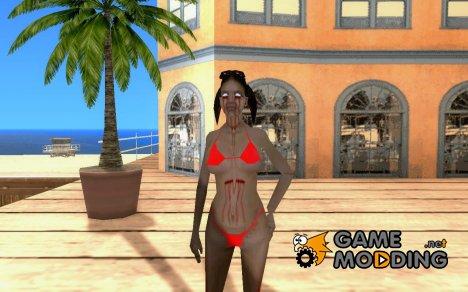 Zombie Skin - hfybe for GTA San Andreas