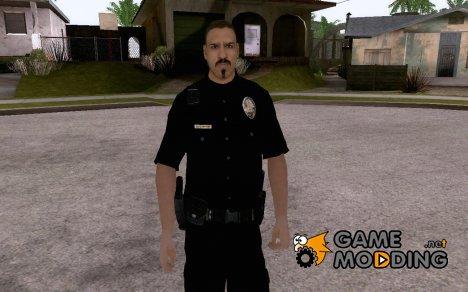 Новый скин полицейского for GTA San Andreas