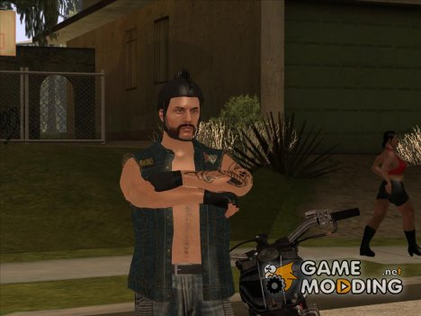Biker from GTA Online для GTA San Andreas