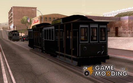 Водитель трамвая 1 для GTA San Andreas