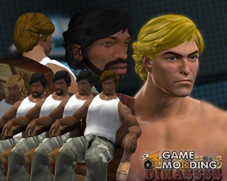 "Прическа ""Rugged Class""(Saints Row The Third) для GTA San Andreas"
