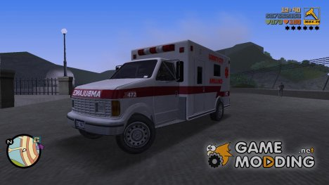 Ambulance HD для GTA 3