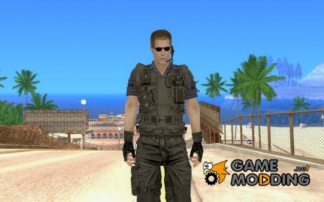 Новый скин wesker for GTA San Andreas