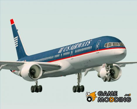 Boeing 757-200 US Airways for GTA San Andreas