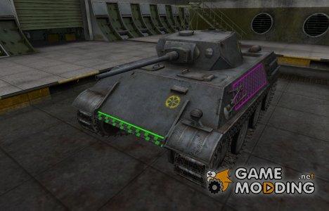 Качественные зоны пробития для VK 28.01 для World of Tanks