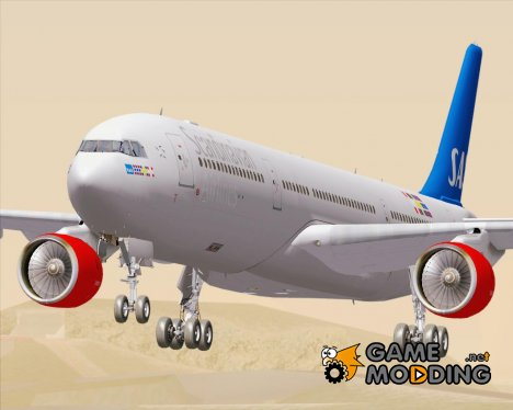 Airbus A330-300 Scandinavian Airlines SAS for GTA San Andreas