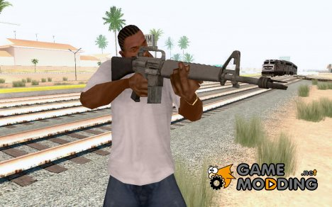 М 16(стандартная) из Call of Duty Black Ops для GTA San Andreas