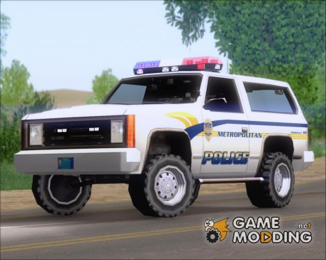 Police Ranger Metropolitan Police for GTA San Andreas