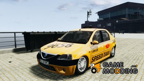 Dacia Logan Prestige Taxi for GTA 4
