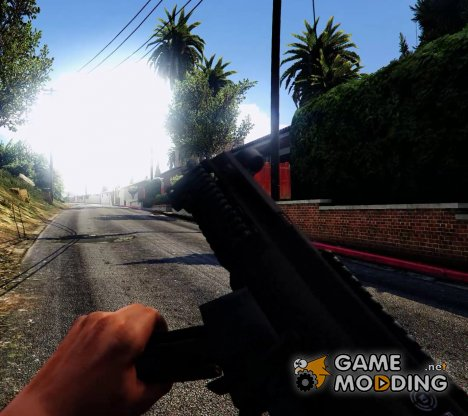 Battlefield 4 UMP45 for GTA 5