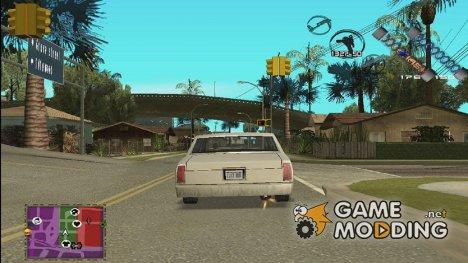 Огонь из выхлопной трубы for GTA San Andreas