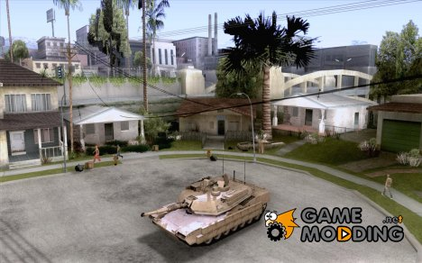 M1A2 Abrams TUSK for GTA San Andreas