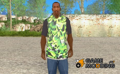 Футболка с Черепами for GTA San Andreas