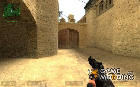 Simple Black Usp Recolor for Counter-Strike Source