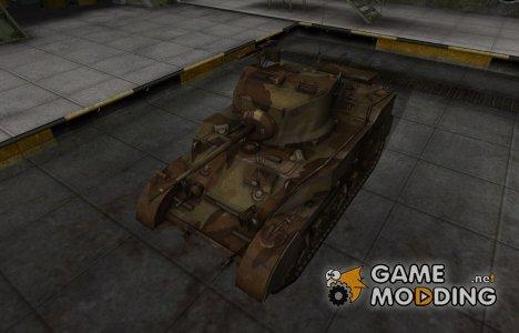 Американский танк M5 Stuart for World of Tanks