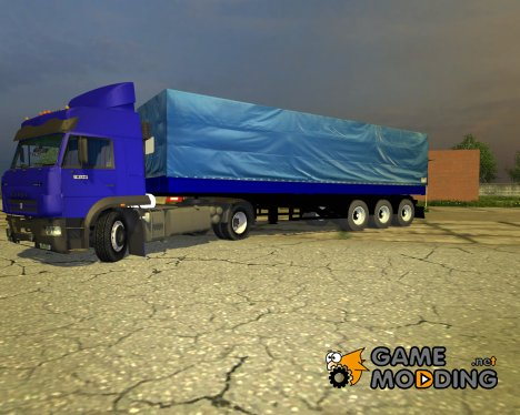 Полуприцеп для KamAZ-5460M для Farming Simulator 2013