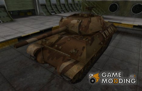 Шкурка для американского танка M10 Wolverine для World of Tanks