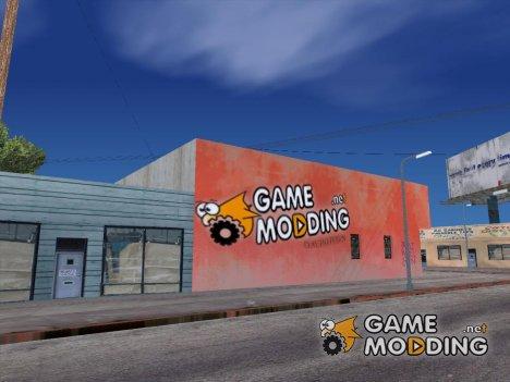 Gamemodding Graffiti для GTA San Andreas