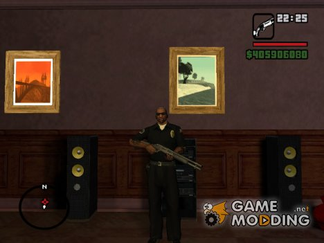 Новый пак оружия for GTA San Andreas