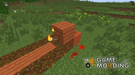 Torch Levers Mod for Minecraft